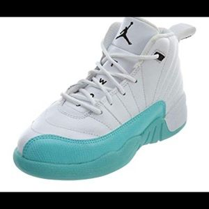 Jordan 12 Retro light aqua